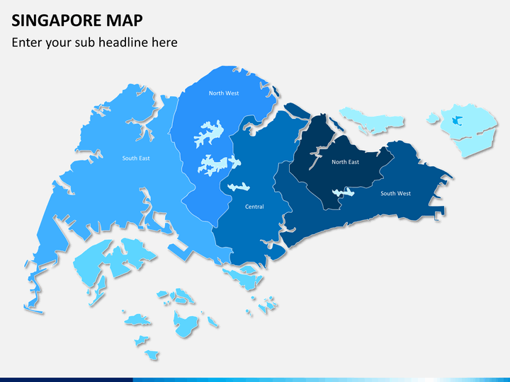 Singapore Map Powerpoint