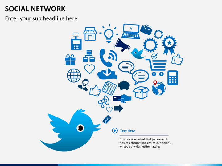 social network powerpoint template