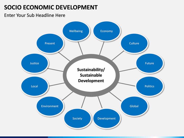 Socio Economic Development Powerpoint Template Sketchbubble