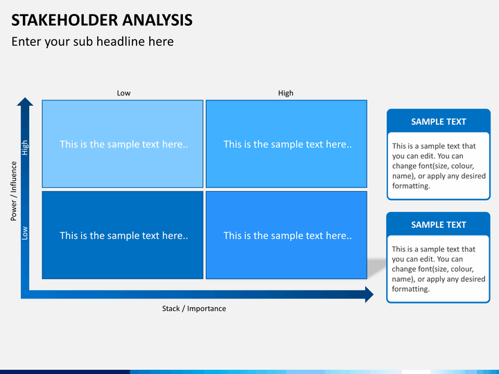 Stakeholder Analysis Powerpoint Template | Sketchbubble