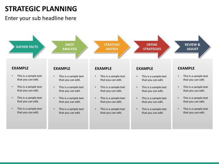 strategic plan powerpoint template basic strategic plan template for