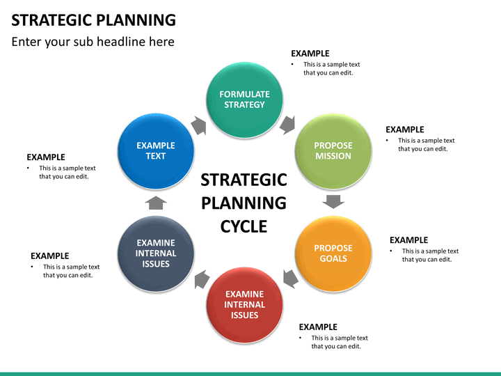 Strategic Planning PowerPoint Template | SketchBubble