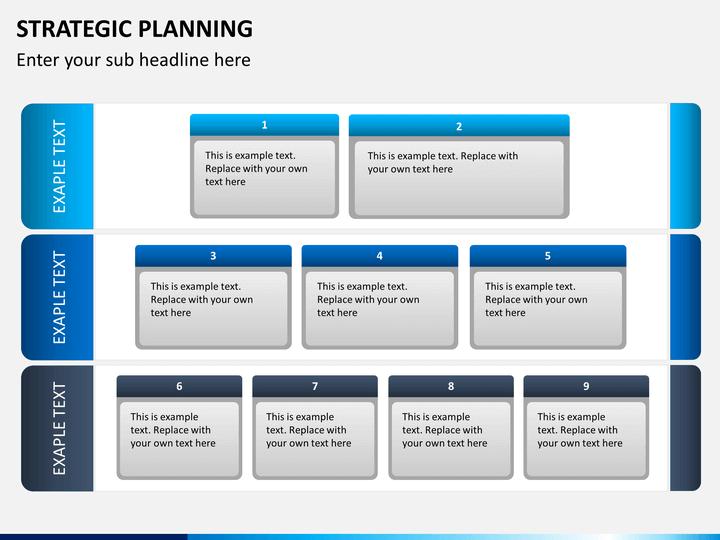 strategic plan template ppt