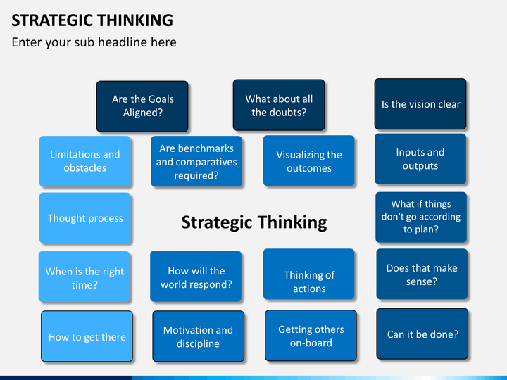 strategic thinking powerpoint template