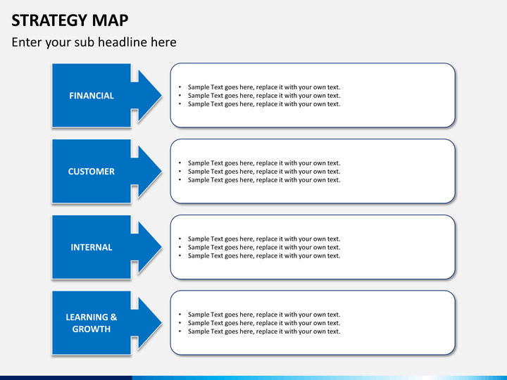 strategy-map-slide10 Data Mapping Template on data mapping tools, data mapping process, data steward, data classification template, data management, data mapping excel, data field mapping, process flow template, data profiling, data migration, data cleansing, data dictionary, enterprise information integration, data dictionary template, data tracking template, semantic integration, data assessment template, data mapping table, data governance template, data conversion template, medical insurance verification form template, information integration, data information template, data custodian, data integration, data warehouse, data presentation template, data visualization template, data mapping example, data modeling template, master data management, data quality template, data entry template,