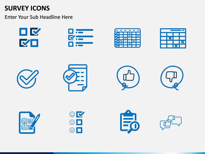 Survey Icons Powerpoint Template Sketchbubble