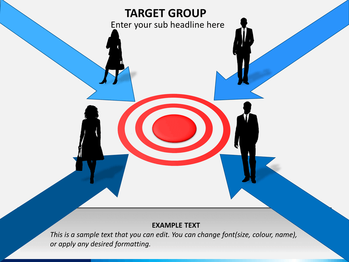 Target Group Powerpoint Template Sketchbubble