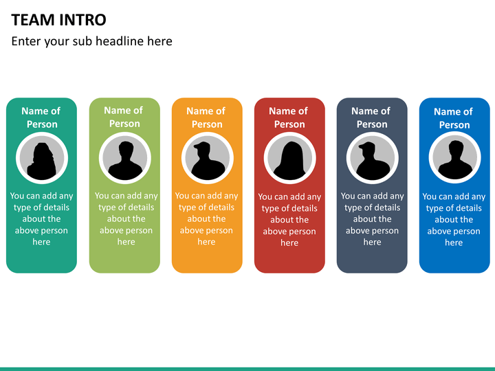 team introduction powerpoint template