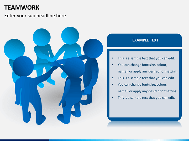 Teamwork Powerpoint Template Sketchbubble