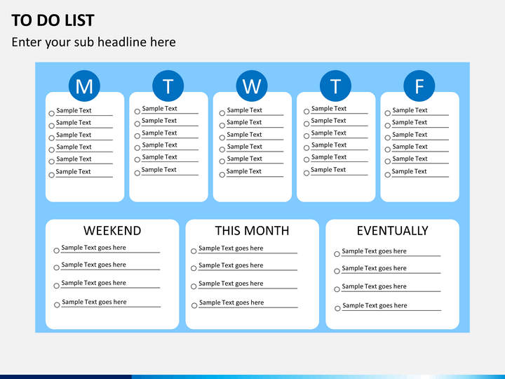 to do list powerpoint template