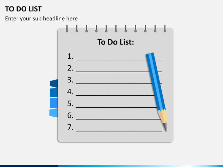 To do list powerpoint template sketchbubble to do list ppt slide 9 toneelgroepblik Image collections