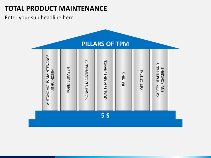 total productive maintenance thesis Total maintenance practice is a coordinated maintenance practices among the personnel of a production unit it aims to bring a culture of unity and ownership total productive maintenance (tpm) which is one of the key concepts of lean manufacturing.