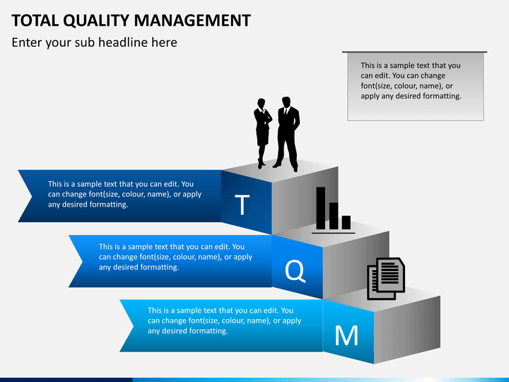 Total Quality Management Tqm Powerpoint Template Sketchbubble