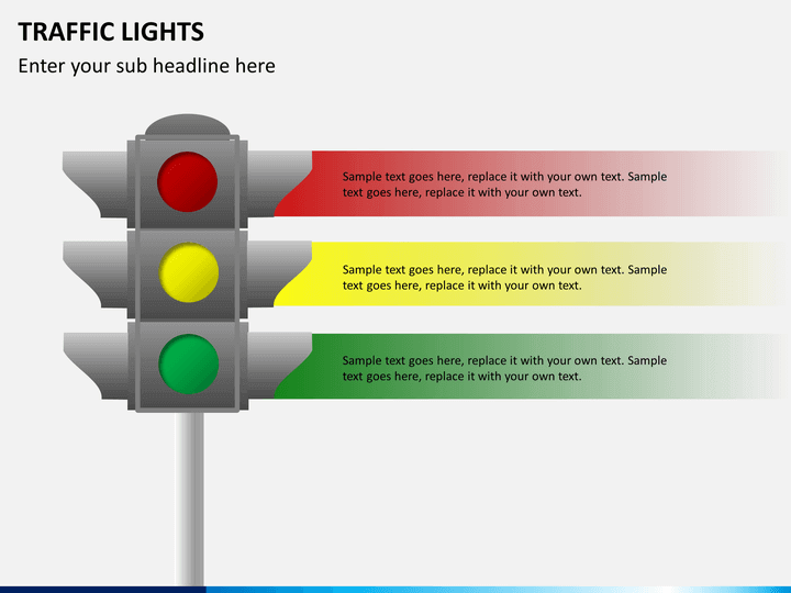 Traffic Lights Traffic Signs Powerpoint Template Sketchbubble