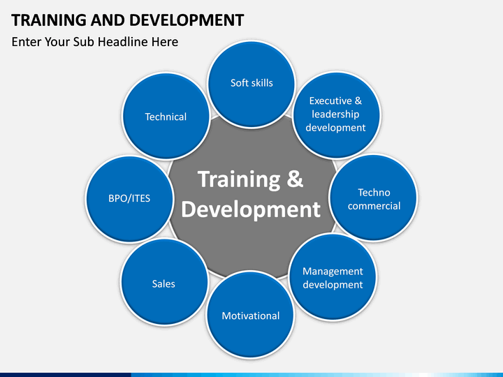 training and development powerpoint template