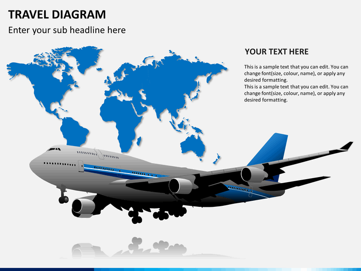 Travel Diagram PPT slide 1