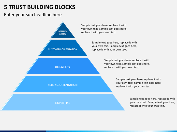 Powerpoint Building Blocks Template Free