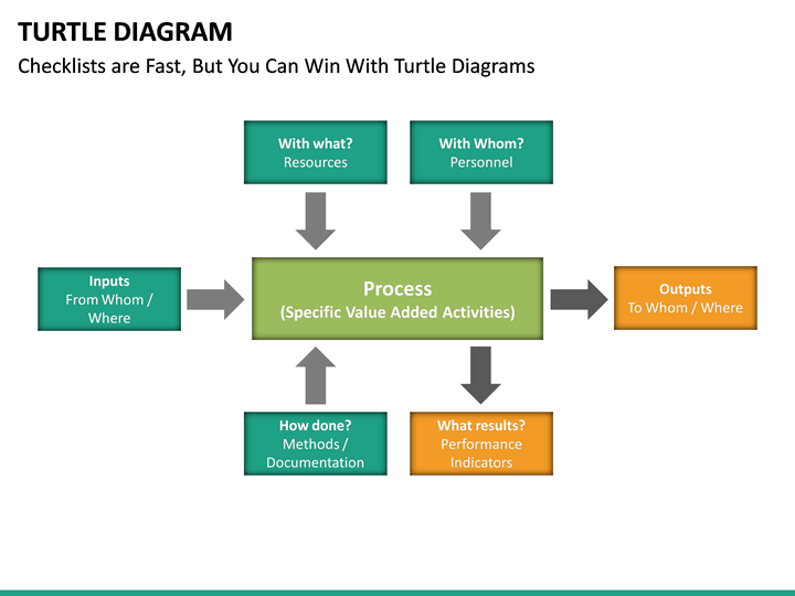 Turtle    Diagram    PowerPoint   SketchBubble