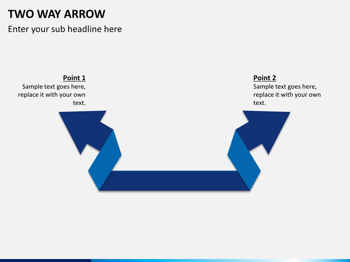 Two Way Arrow Powerpoint Shapes