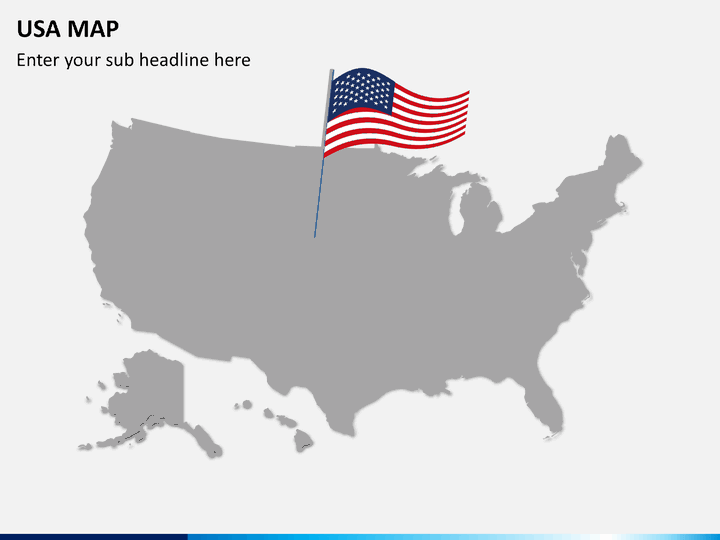 PowerPoint USA Map | SketchBubble