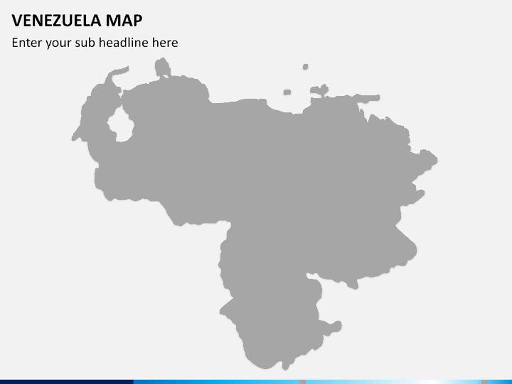PowerPoint Venezuela Map SketchBubble - Venezuela map