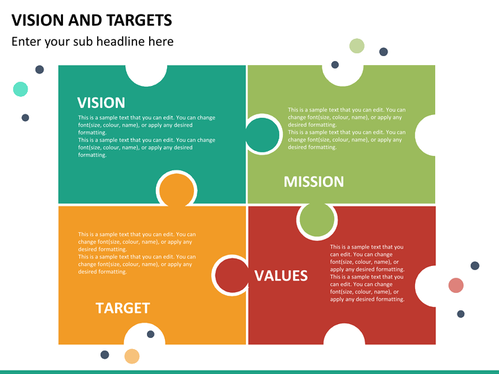vision and targets powerpoint template | sketchbubble, Presentation templates