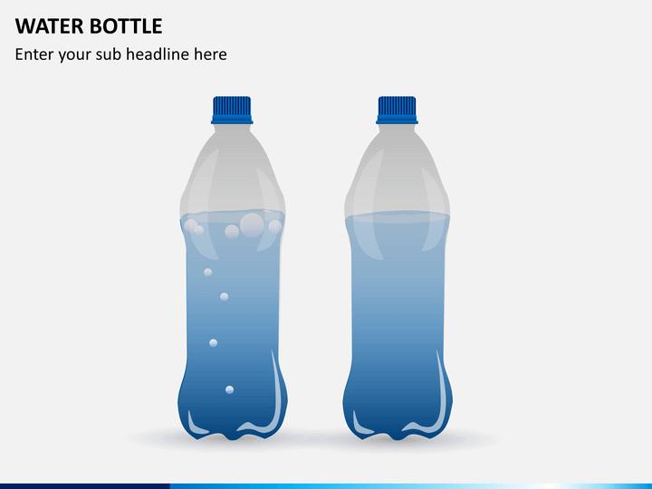 Water Bottle PPT slide 1