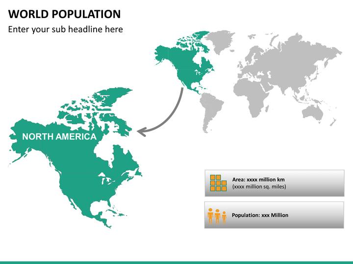 world population ppt slide 15