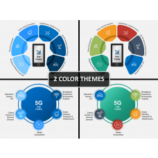 5G Technology PPT cover slide