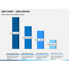 Bar chart PPT slide 1