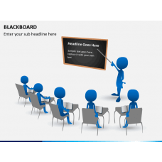 Blackboard PPT slide 1