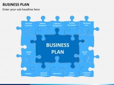Business plan PPT slide 1