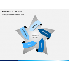 Business strategy PPT slide 1