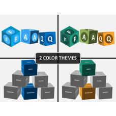Cube Shapes PowerPoint | SketchBubble