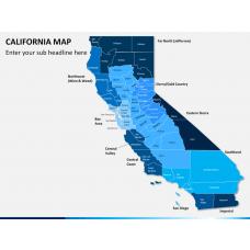 California map PPT slide 1