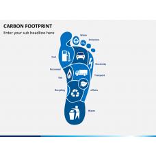 Carbon footprint PPT slide 1