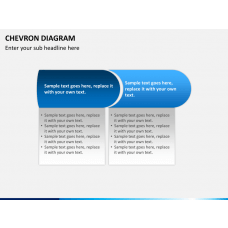 Chevron diagram PPT slide 1