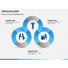 Circular loops PPT slide 1