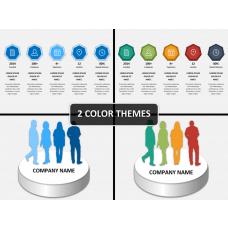 Company presentation PPT cover slide