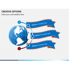 Creative options PPT slide 1