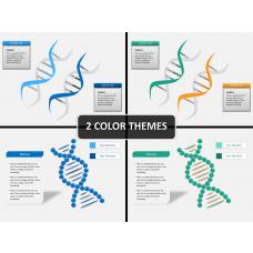 DNA string PPT cover slide
