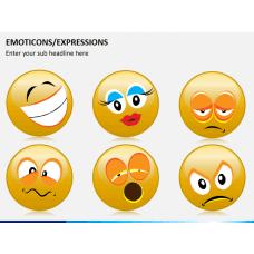 Emoticons PPT slide 1