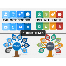 Employee benefits PPT cover slide