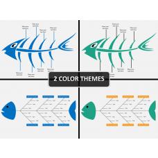 Fishbone diagram PPT cover slide