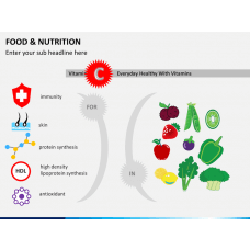 Food and nutrition PPT slide 1