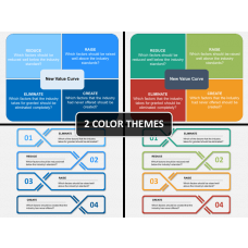 Four Actions Framework PPT cover slide