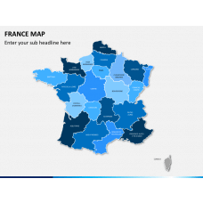 France map PPT slide 1