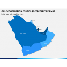 Gulf Cooperation Council (GCC) Map