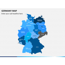 Germany map PPT slide 15