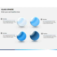 Glass sphere PPT slide 1